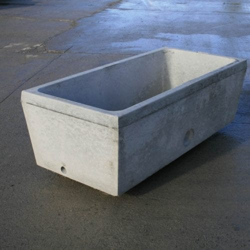 150 Gallon Water Trough Bottom Entry