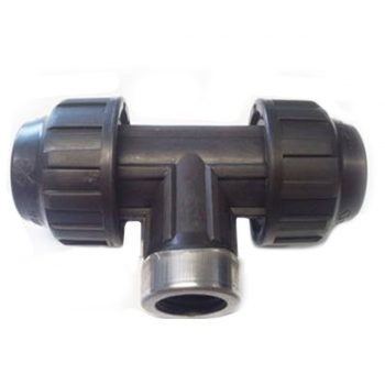 Female BSP Tee for Normal Gauge and Heavy Gauge Hydradare Pipe